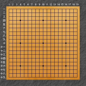 囲碁の黒丸